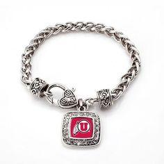 University of Utah Utes Classic Bracelet - a sterling silver bracelet