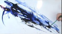 Linda Melvin's Abstract Fluid Watercolor System--- Lesson 6 - YouTube
