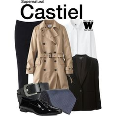 Castiel - supernatural inspired fashion