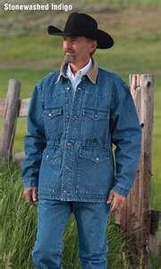Schaefer Ranchwear Blanket Lined Denim Saddle Coat    www.schaefer-ranchwear.com
