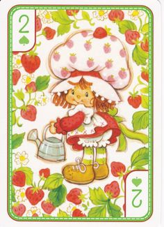 SSC Playing Cards - Best Deck - 37 Strawberry Shortcake Cartoon, Famous Cartoons, Old Cartoons, My Melody Wallpaper, Unicorn Drawing, Cool Deck, Favorite Cartoon Character, Rainbow Brite, 80s Kids