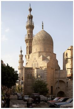 Mosque Architecture, Sacred Architecture, Beautiful Architecture, Architecture Design, Kairo, Beautiful Mosques, Egypt Travel, Izu, Cairo Egypt