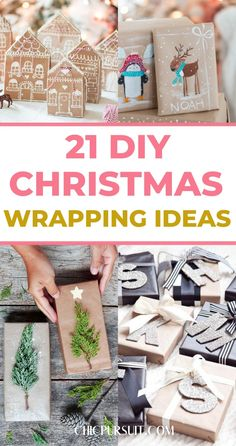21 Beautiful & Unique Christmas Wrapping Ideas You Need To Try | Looking to elevate your Christmas gifts this year with creative DIY wrapping? Take inspiration from these 21 beautiful and rustic Christmas wrapping paper ideas! There's Christmas gift wrapping ideas with brown paper, gift wrapping ideas for kids, rustic gift wrapping ideas and more! #wrappingpaper #christmaswrapping #christmaswrappingideas #christmaswrappingpaper #christmasgiftwrapping #christmasgiftwrappingideas