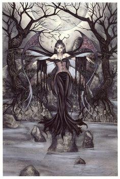 Amy Brown Night Queen - fairy art