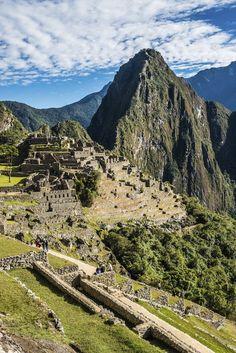 Machu Picchu ruins peruvian Andes Cuzco #Peru