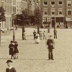 Neude en Domkerk te Utrecht, Léon & Lévy, 1880 - 1900 - Utrecht-Verzameld werk van Rijksmuseum - Alle Rijksstudio's - Rijksstudio - Rijksmuseum