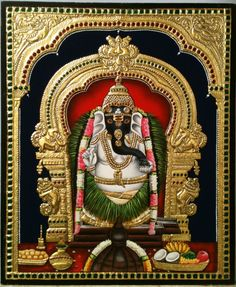 Make this Ganesha Chathurthi 2020 special with rituals and ceremonies. Lord Ganesha is a powerful god that removes Hurdles, grants Wealth, Knowledge & Wisdom. Mysore Painting, Tanjore Painting, Om Namah Shivaya, Popular Paintings, Indian Artist, God Pictures, Indian Paintings, Leaf Paintings, Hindu Art