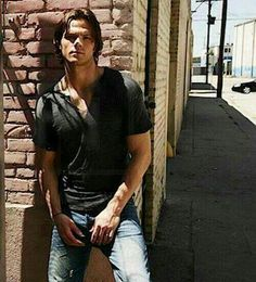 Jared Padalecki. Only person I'd walk toward in a dark alley