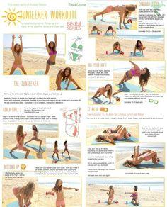 Beach work out