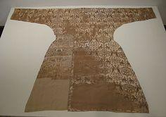 Coat11th–12th century Geography: probably Spain, possibly Eastern Iran Medium: Silk; samite