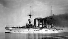SMS Scharnhorst, the German flagship one of the German ships sunk at the Battle of the Falkland Islands 8th December 1914  http://www.britishbattles.com/battle-of-the-falkland-islands/