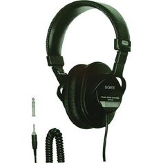 SONY MDR7506 PRO STEREO HEADPHONES STEREO