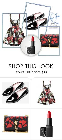 """""""set"""" by durakkemal ❤ liked on Polyvore featuring Yves Saint Laurent and NARS Cosmetics"""