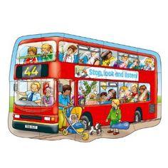 "Orchard Toys Großes Bus-Puzzlespiel ""Big Bus"": Amazon.de: Spielzeug"