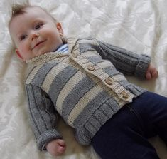 Baby Stylish Jacket Knitting Pattern