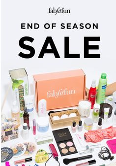 BLOWOUT SALE For the next 4 days we're giving you 50% off your FabFitFun box with code FLIRT. Just $25 for $200+ of glam goodies, but hurry because this offer won't last long!