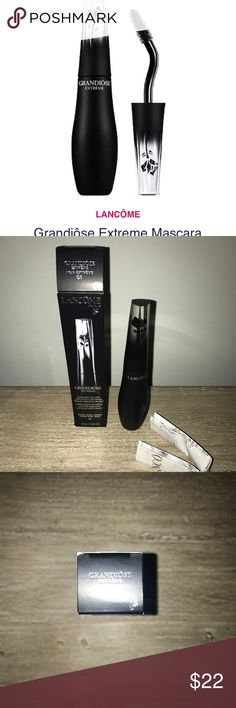 Lancôme grandiose extreme mascara noir extreme New in box. Never used or tube opened. Purchased from ulta. Lancome Makeup Mascara