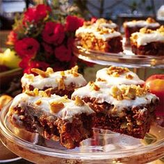 Chunky Apple Cake with Cream Cheese Frosting Recipe