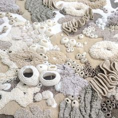 Larte tessile cattura la bellezza dellecosistema della barriera corallina del nostro mondo