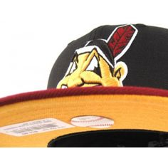 7992deb4106 Custom Cleveland Indians New Era Fitted Hat custom made to match the Kevin  Durant VI PB   J.