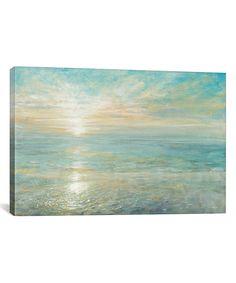 Danhui Nai Sunrise Gallery-Wrapped Canvas
