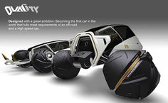 Duality - Concept Vehicle by Fernando Machado -  The Duality concept vehicle ambitiously attempts to blur the lines between off-road SUV and race car. Read more at http://www.yankodesign.com/2014/03/04/the-ultimate-off-road-racer/#QBEXDX0FimHfEGbP.99