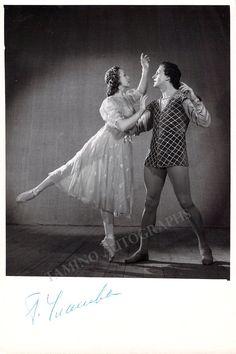 Ulanova, Galina - Signed Photo in Romeo and Juliet