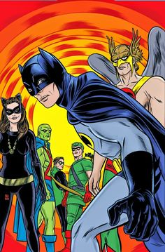 Justice League of America #15//Mike Allred/A/ Comic Art Community GALLERY OF COMIC ART