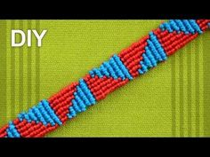 How to make a Triangle Friendship Bracelet