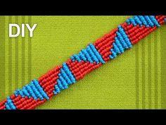How to make a Triangle Friendship Bracelet