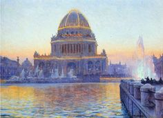 Twilight at the World's Columbian Exposition, Walter Launt Palmer