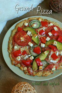 Auf meinem Blog findest Du ein einfaches Rezept für eine gesunde Pizza. // Lisawegmann.de regularsports Lisa Wegmann Rezept recipe