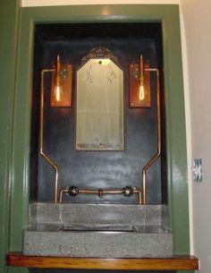 seven incredible steampunk bathroom fixtures