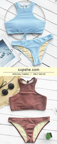 Treat Yourself to Something Special. Faster shipping. When you are in this fresh Tank Bikini Set, you will not just be memorable, you'll be unforgettable! It comes in tank top&low rise bottom! Shop Now!
