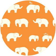 Wish we had found this fabric for our daughter's wedding...elephants and birds were their theme.  Maybe I should buy some for future grandkids!