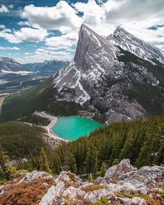 East End of Mt. Rundle in Canmore Canadian Forest, Canadian Rockies, Alberta Canada, World's Most Beautiful, Beautiful Places, Capital Of Canada, Destinations, Canadian History, Marketing