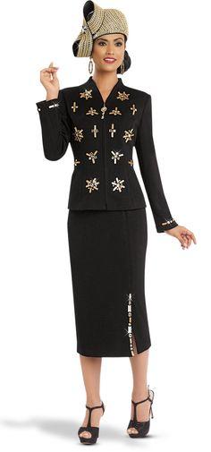 2 Pc Jacket & Skirt set 13151