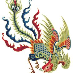 Asian Art Chinese Rooster
