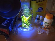 Glowing Kryptonite Candy