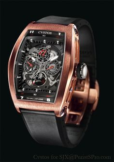 PuristSPro - I covered the Cvstos Pagani Zonda F chronograph in my SIHH and Geneva report , but was unable to get photos of the other new watches for 2007. I ve finally