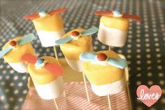 Propellor Pops for Aviator Party-- Design Loves Detail
