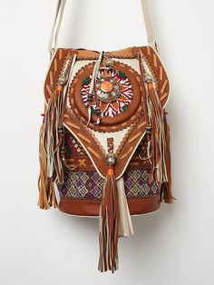 Soulindha Jaimi Leather Bag at Free People Clothing Boutique