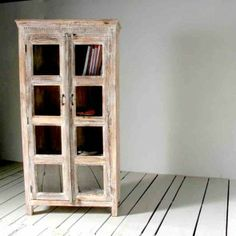 Whiteleaf Upcycled 2 Door Glass Dresser
