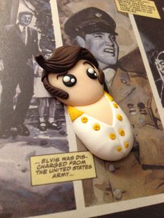 Elvis fimo handmade!