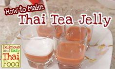 Try Thai Tea Jelly.