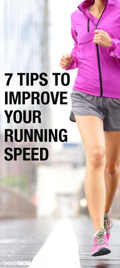Improve your running pace with these tips.