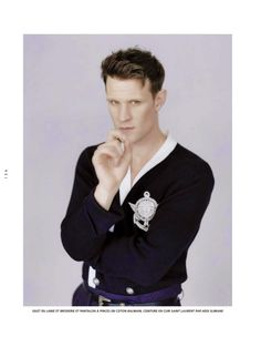 Matt Smith | photo by Jesse John Jenkins; from L'Officiel Hommes Paris, Spring 2014