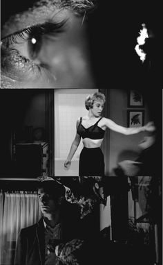 Psycho, directed by Alfred Hitchcock, 1960 Scary Movies, Old Movies, Vintage Movies, Great Movies, Horror Movies, Alfred Hitchcock, Entertainment Weekly, Actrices Blondes, Tv Movie