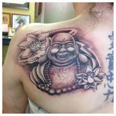 33 Best Laughing Buddha Tattoo images in 2017 | Buddha tattoos, Fat, Laughing buddha tattoo