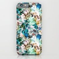 iPhone & iPod Case featuring Floral Pattern V2 by Eduardo Doreni